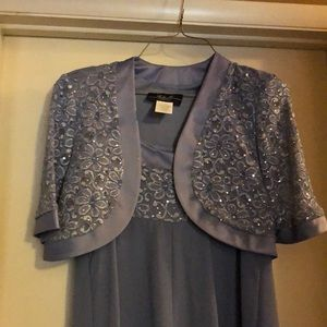 Dresses - Fancy embellished dress with matching coat